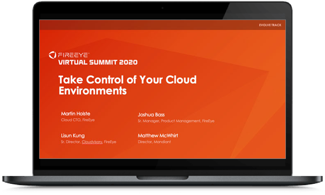 Take control of your cloud environments with world-class security