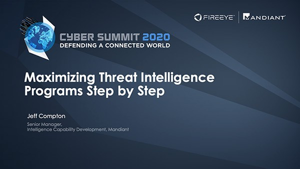 Maximizing Threat Intelligence Programs Step by Step