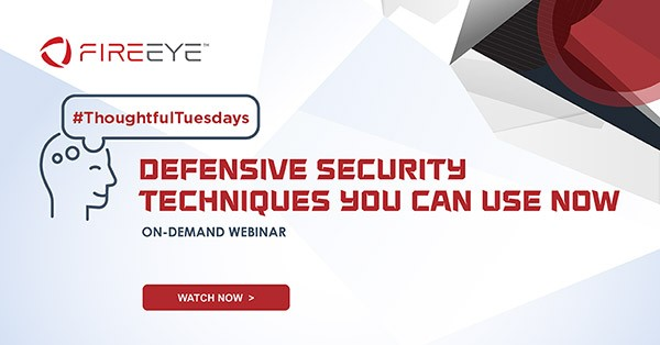 Defensive Security Techniques You Can Use Now