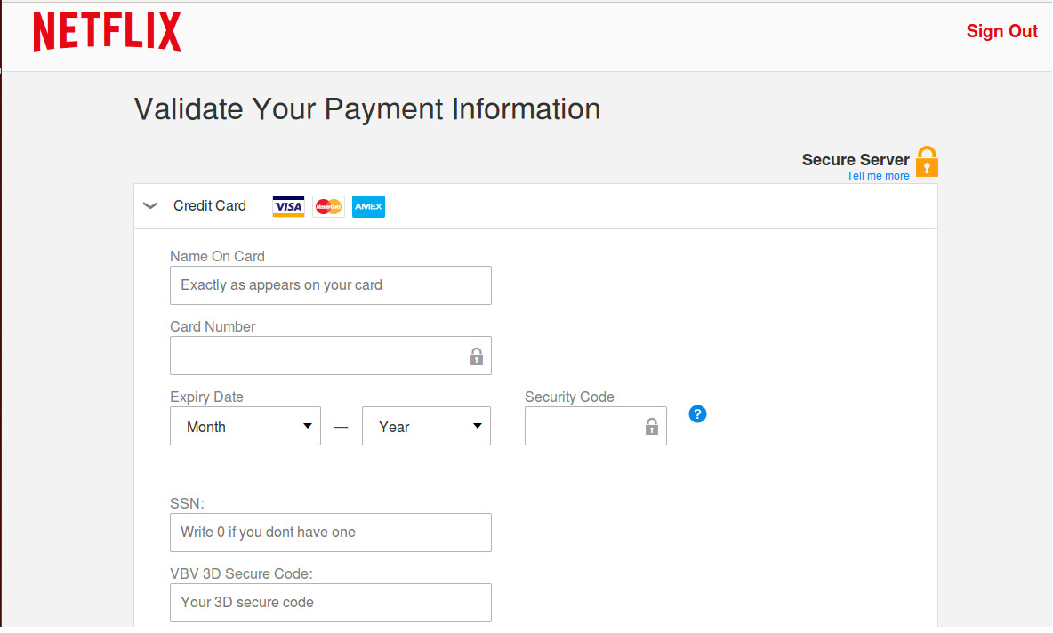 netflix how to change payment method