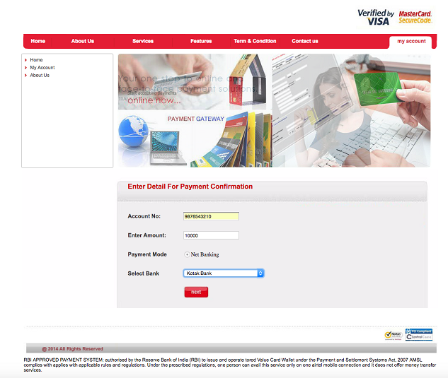 'One-Stop Shop' – Phishing Domain Targets Information from Customers of Several Indian Banks