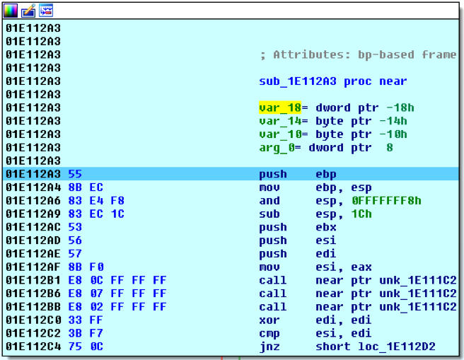 Debugging Complex Malware that Executes Code on the Heap