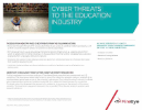 Cyber threats to the education industry