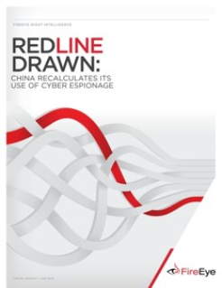Red Line Drawn: China recalculates its use of cyber espionage