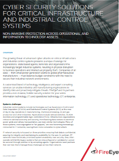 Critical Infrastructure Solution Brief