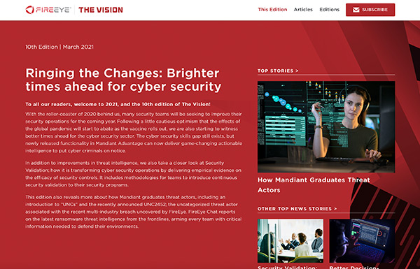 The Vision - Read the latest edition