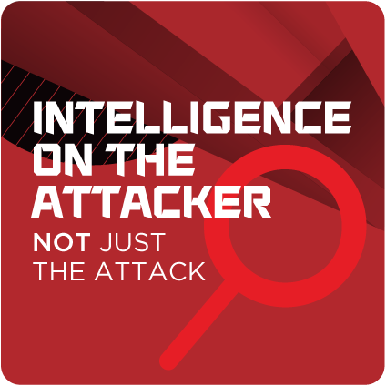 Intelligence on the attacker, not just the attack
