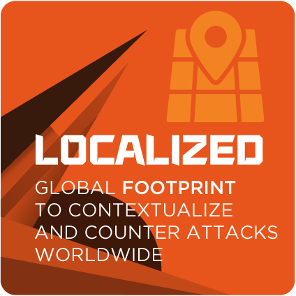 Localized global footprint to contextualize and counter attacks worldwide