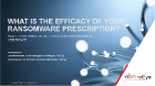 Use Threat Intelligence to Mitigate Ransomware in Healthcare