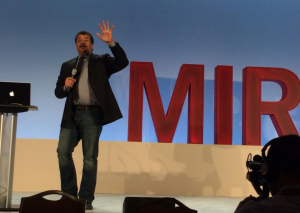 Dr. Neil deGrasse Tyson giving his keynote at MIRcon 2014
