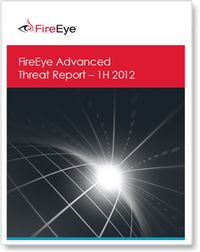Advanced Threat Report 1H 2012