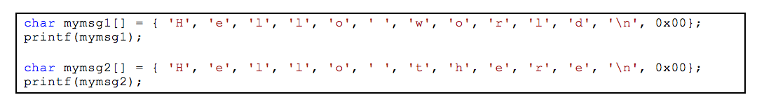Figure 5: Challenge source code