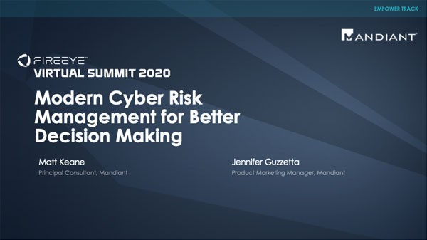 Modern Cyber Risk Management for Better Decision Making