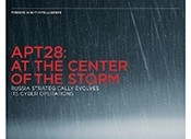 APT28: At the center of the Russian cyber storm