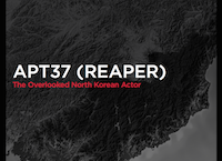 APT37 (Reaper): The Overlooked North Korean Actor