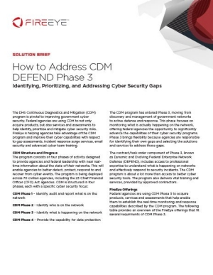 CDM Solution Brief