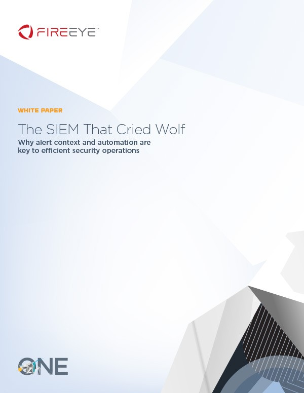 White Paper: The SIEM That Cried Wolf